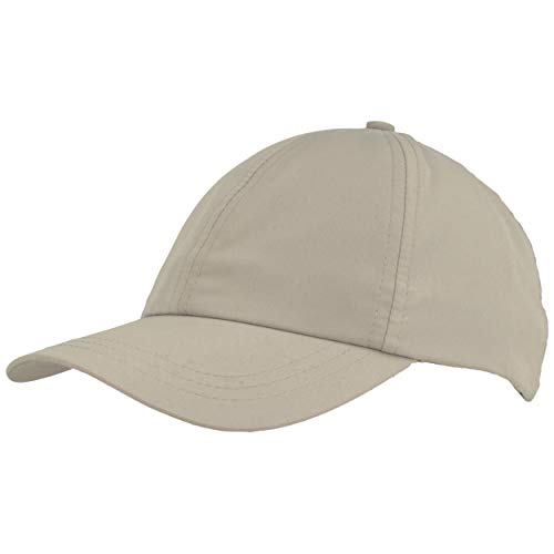 Unisex Baseball Cap | Basecap | Sonnen Kappe – mit UV Schutz 40+ und atmungsaktivem Innenfutter – Größenverstellbar für Damen & Herren (One Size, Grau)