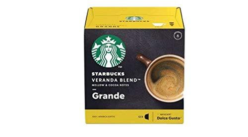 NESCAFE® Dolce Gusto® Starbucks® Grande Veranda Blend™ - 12 Kapseln / Portionen - Kaffee - Espresso - Grande - Lungo - 100% Arabica
