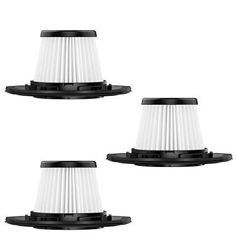 Holife - Juego de 3 filtros de repuesto HEPA HM218B para aspiradora, modelos de aspiradora de mano, bolsa, filtro de polvo, no apto para todos los demás modelos