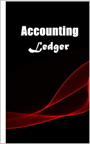 Accounting Ledger: Simple Cash Book Accounts Bookkeeping Journal for Small Business |...