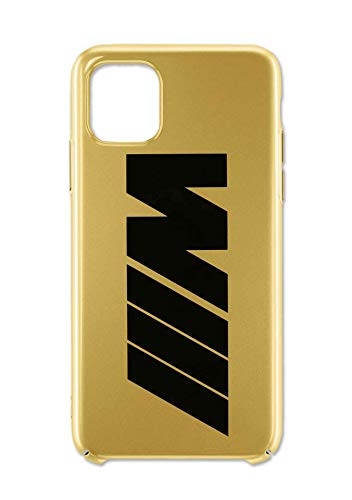 BMW - Carcasa para iPhone 11 Pro (colección M 2020/21), color dorado