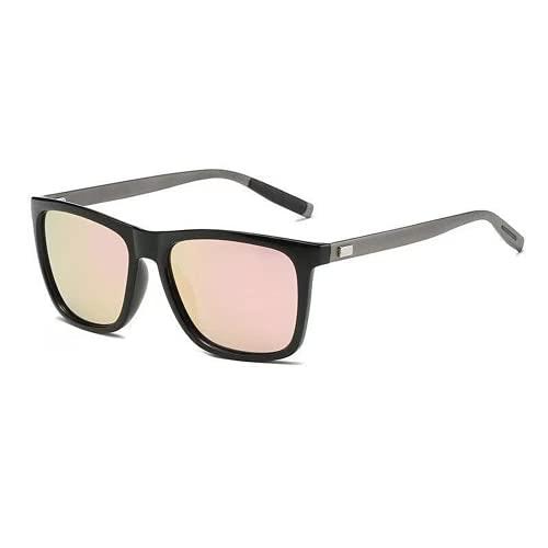Mcottage 2021 Polarized UV400 Sunglass Sun's Color Color Coincidencia de los Hombres Diseñador Retro Gafas de Sol Ligeras y Flexibles