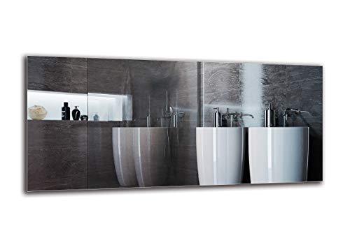 Specchio Standard - Specchio Senza Cornice - Dimensioni dello Specchio 130x60 cm - Specchio Bagno - Specchio a Muro - Bagno - Soggiorno - Cucina - Sala - M1ST-01-130x60 - ARTTOR