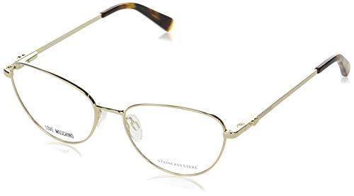 Gafas de Vista Love Moschino MOL551 Pale Gold Silver 53/16/140 mujer