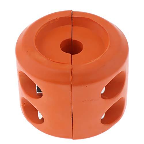 Seilwinde Kabel Haken Stopper Gummi Seil Linie Saver Für ATV UTV Fahrzeug 1/2 Zoll Kabel Öffnungsdurchmesser, Perfekte Passform - Orange