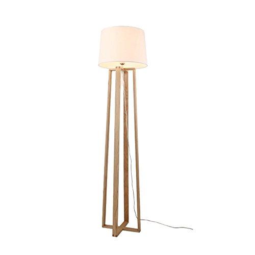5151BuyWorld lamp Staande lamp Nordic Japans hout stof stijl eiken schaduw eenvoudige bank kant nachtkastje licht foyer woonkamer E27 topkwaliteit