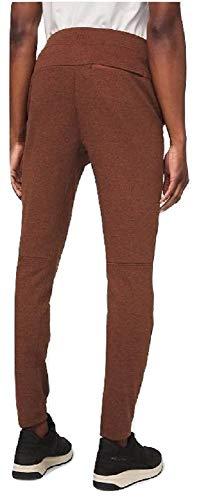 Lululemon Mens Grey City Sweat Pant Classic Thermo Jogger -Men Size Medium -Heather Dark Terracotta