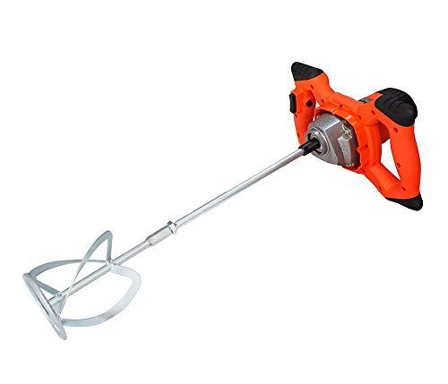 Mortel Mixer, Paddle Mixer Boor, krachtige hand-held Cement Opruier, variabele snelheid mengen Tool, Ergonomische Bouw, for het mengen van Gips/Verf/mortel/lijm/Adhesive 8bayfa