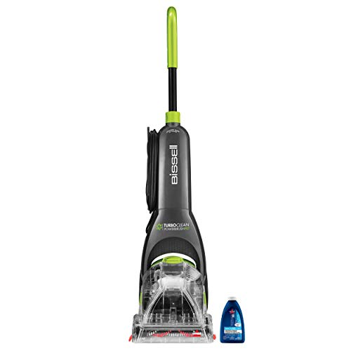 Learn More About BISSELL Turboclean Powerbrush Pet Upright Carpet Cleaner Machine and Carpet Shampoo...