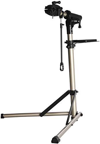 LOISK Caballete para Bicicleta Caballete de Montaje Estable Pro Home Mecánica Reparación de Bicicletas Soporte de Taller de Altura Ajustable
