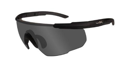 Wiley X Saber Advanced 302 - Occhiali Protettivi, M/XL, Colore Nero Opaco