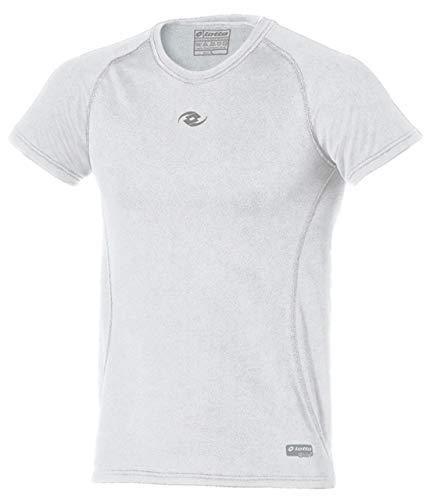 Lotto Skin2 - Maglietta intima da uomo, colore: Bianco, Uomo, K2998, bianco, XXL (54)