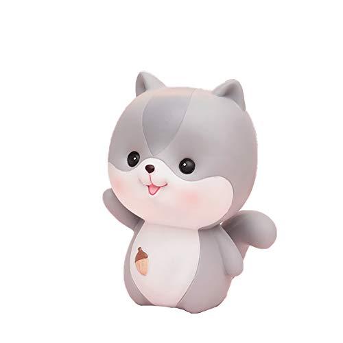 scrox.. * 1 Spardose Eichhörnchen, hübsche Statue Eichhörnchen, Kinder, kann schöne Dinge aufbewahren