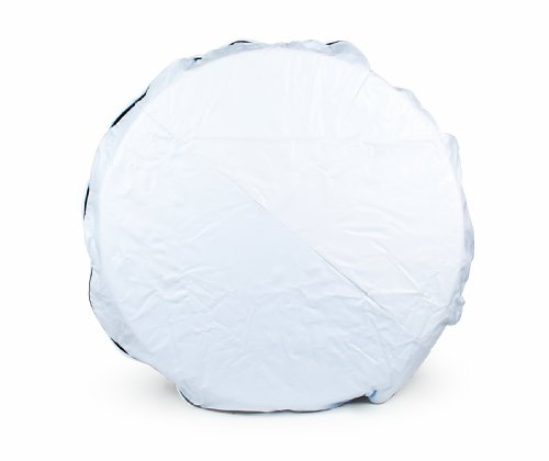 Camco 45347 Vinyl Spare Tire Cover (25-1/2 inches , White)