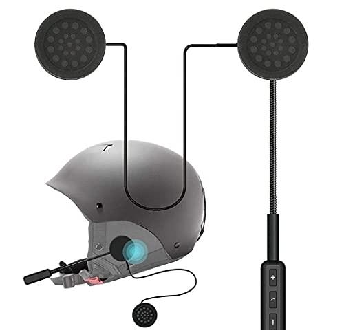 PA Universal Motorcycle Helmet Headset, Bluetooth Stereo Speakers Hands-Free Music Call Control Mic Earphone Durable