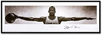 Wall Art Canvas Pictures Home Decor Michael Jordan Wings Poster Print Canvas Painting  size1 12x36inch Frameless