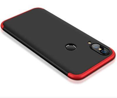 DIFE 360 Grados 3 in 1 Todo Incluido Anti-Scratch Anti-Huella Dactilar a Prueba de Choque Protective Case Cover Funda + Cristal...