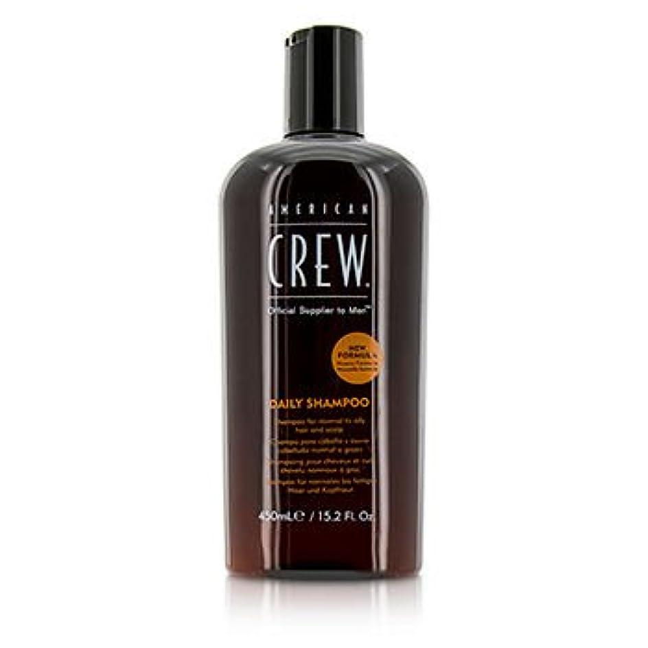 手首タイプライター耐えられない[American Crew] Men Daily Shampoo (For Normal to Oily Hair and Scalp) 450ml/15.2oz