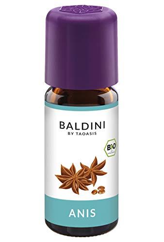Baldini - Anisöl BIO, 100% naturreines ätherisches BIO Anis Öl, Bio Aroma, 10 ml