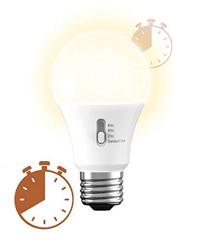 GE Lighting 93127245 - Bombilla LED con temporizador, 60 W, color blanco suave