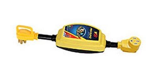 Camco 55306 - RV Trailer Camper Electrical Power Defender Portable 50A Camco RV 55306