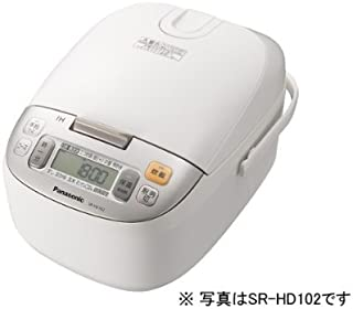 パナソニック 8合 炊飯器 IH式 ホワイト SR-HD152-W