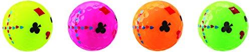 Kasco (Golf Ball Women's KIRA Sweet Character Mark with a Dozen (12 Pieces) Japan Import