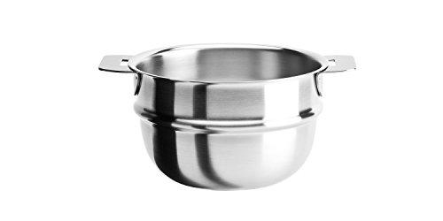 Cristel Strate Bain Marie, 1 quart, Silver