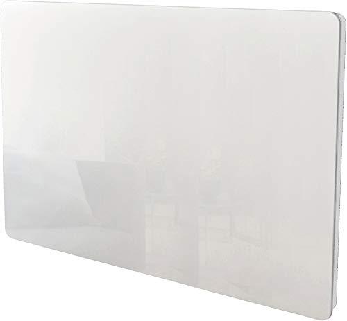VOLTMAN VOM540021 - Panneau rayonnant - 1500 Watts - Facade en verre Trempée Blanche - Détection fenetre