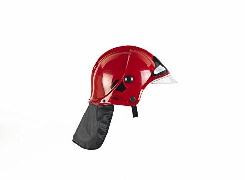Theo Klein-8901 Firefighter Henry Casco De Bomberos Con Visera, Rojo, Juguete, color, talla única (THEOK 8901)