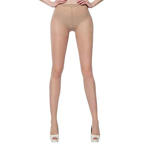ypypiaol Frühlings-Frauen-dünne Strumpfhosen-füßige Strumpfhosen-Normallack-Dehnbare Lange Strümpfe Bequem Hautfarbe