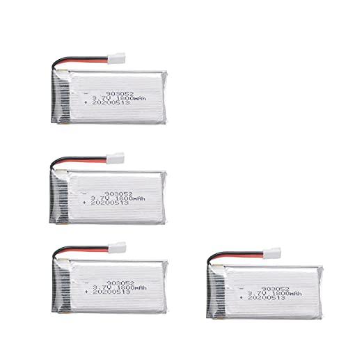 4 Pz 3.7v1800mah Batteria Ricaricabile Ai Polimeri Di Litio 903052, Per Ky601s Syma X5 X5s X5c X5sc X5sh X5sw M18 H5p H11d H11c Pezzi Di Ricambio Per Telecomando Drone