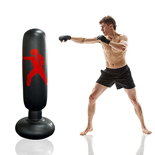 Faffooz Saco de Boxeo Inflable,...