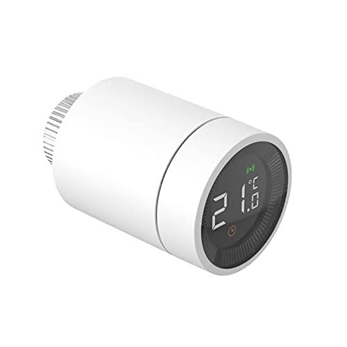 XUANWEI Tuya Smart Home Zigbee Termostato Radiador Termostático Controlador de Válvula Termostática Controlador de Temperatura Programable, Soporte Alexa Google