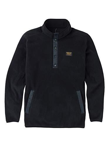 Burton Herren Hearth Fleece Pullover, True Black, L