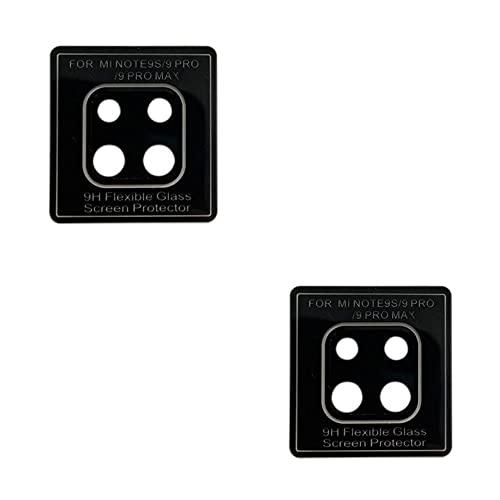 02 Películas Nano Gel Flexível P/Lente de Câmera Xiaomi Redmi Note 9 Pro / 9 Note Pro Max/Redmi Note 9s