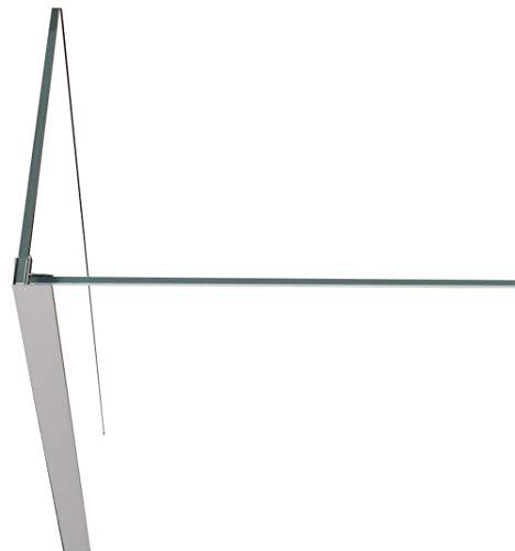 Eckprofil zur Verbindung von zwei 8 mm Glasteilen (Tipo)