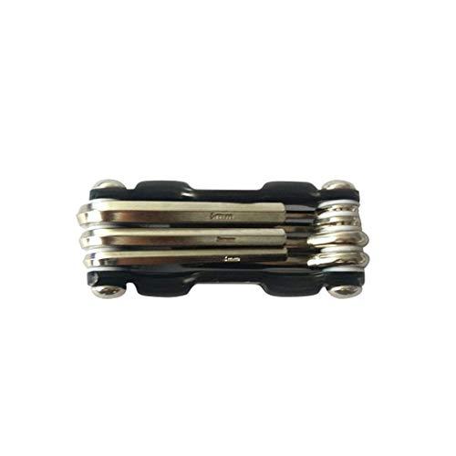 YHFJB - Juego de herramientas 7 en 1 MTB para reparación de bicicletas de carretera, multiherramienta, juego de llaves inglesas, destornillador de bicicleta, color azul