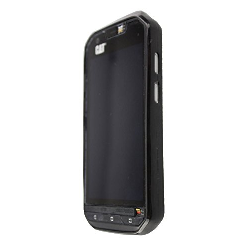 caseroxx TPU-Hülle für Cat S60, Tasche mit & ohne Bildschirmfolie (TPU-Hülle, schwarz)