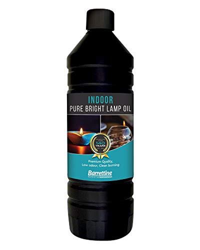 Barrettine 1 L Purebright Indoor Lamp Oil CDU, 1 Litre