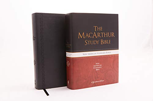 NASB, MacArthur Study Bible, The, Leathersoft, Black: Holy Bible, New American Standard Bible