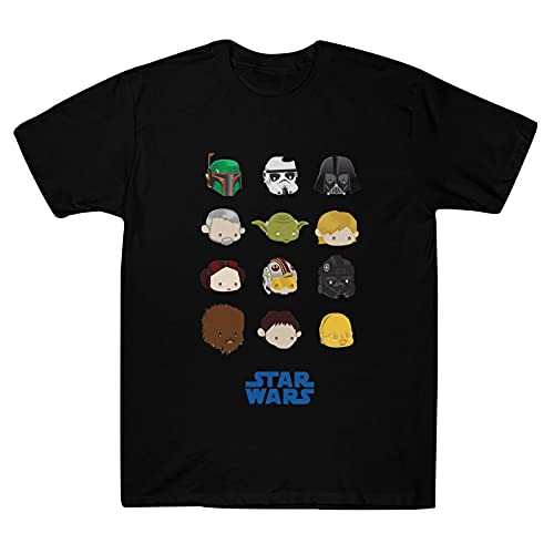Star Wars Cotton T-Shirt Fashion All-Match Top for Men and Women Suitable for Spring, Summer and Autumn