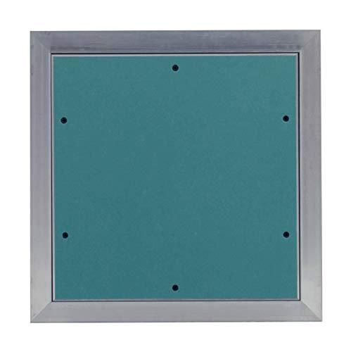 MW multi werkzeug Revisionsklappe 350 x 600 mm mit 12,5mm GK-Einlage imprägniert für Feuchtraum geeignet Aluminium-Rahmen 35 x 60 cm