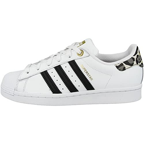 adidas Low Superstar - Zapatillas deportivas para mujer, color Blanco, talla 40 2/3 EU