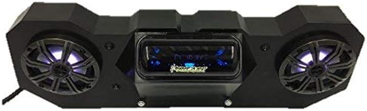 "SD 4BBT2RGB -Polaris RZR Stereo System BT UTV Side by Side (2-6.5"" Marine Speakers)"