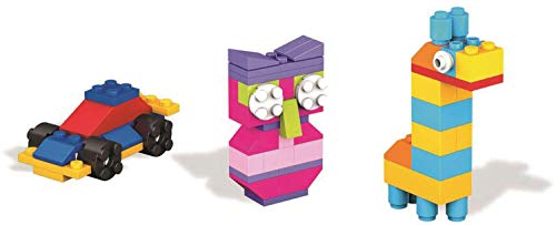 Mega Bloks Construx DYG83 Vibrant Box of Blocks 60pc