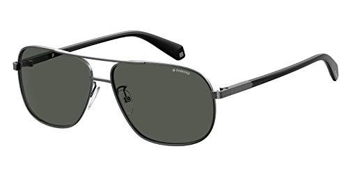 Polaroid Eyewear PLD 2074/S/X, Occhiali da Sole Uomo, Dk Ruthen, 60