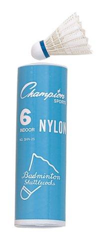 Champion Sports Nylon Indoor Shuttlecock