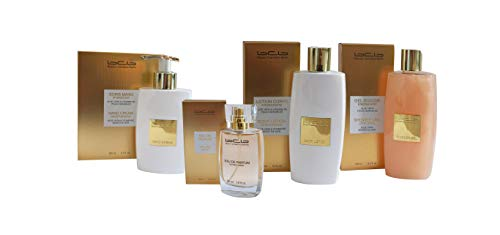 BCB Set gold - 4 Teile (Eau de Parfum gold, Hand Creme, Body Lotion und Shower Gel)