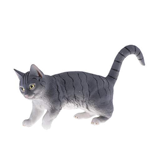 Generic Figuras de Animales Domésticos Lindos Modelo de Favores de Fiesta para Recursos Educativos para Niños Pequeños - Gato Persa
